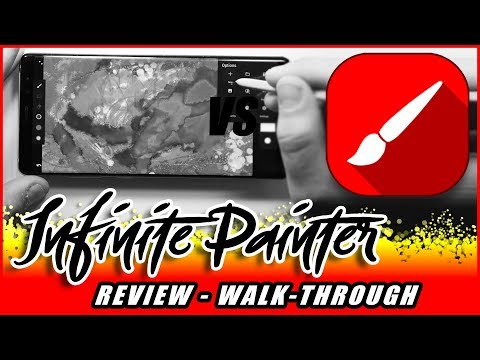 Infinite Painter Review. My search for the best android drawing app