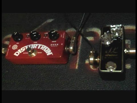 Zvex DISTORTRON vs XOTIC SL DRIVE Overdrive Distortion Demo Shoot out guitar pedal Z.VEX Z. Vex klon