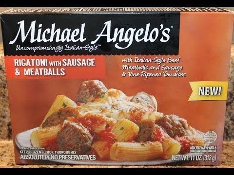 Michael Angelo's: Rigatoni With Sausage & Meatballs Food Review