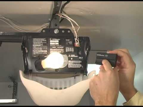 Garage Door Opener Code Reset