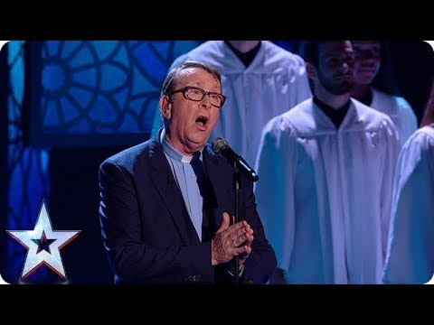 Father Ray Kelly takes us all to Church with INSPIRATIONAL performance! | Semi-Finals | BGT 2018