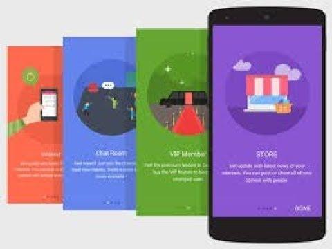 Simple Intro Slider & Walkthrough Screen in Android Studio Tutorial