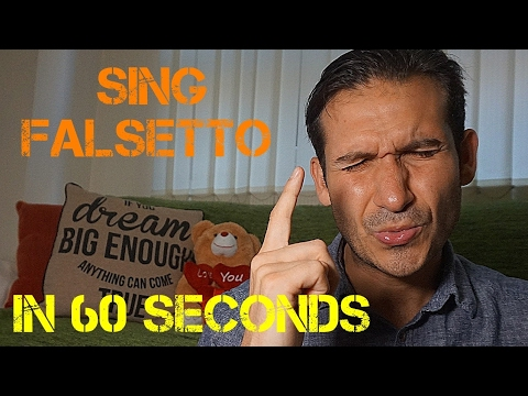 How To Sing Falsetto In 60 Seconds