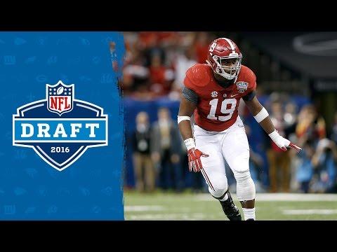 Reggie Ragland College Highlights & 2016 Draft Profile   NFL