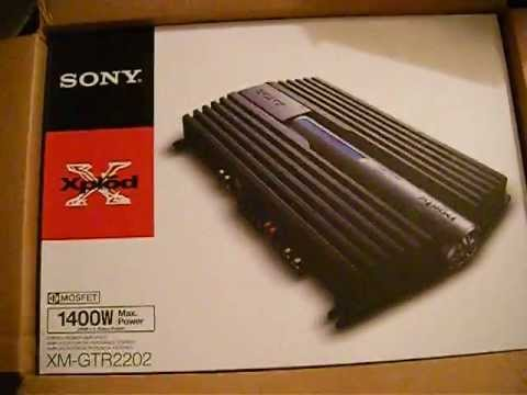 new sony xplod amp for my 1996 trans am