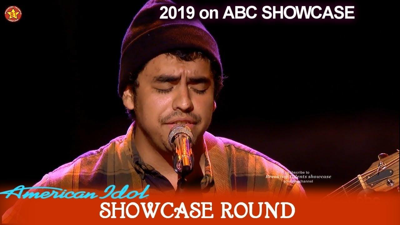 "Alejandro Aranda ""Yellow"" by Coldplay Enough for Top 20? | American Idol 2019 SHOWCASE Round"