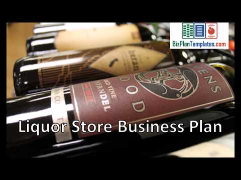 Liquor store business plan