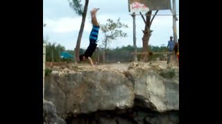 18 minutes of cliff jumping fails (Possibly Funny)