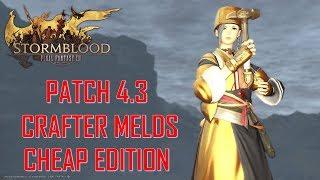 Final Fantasy Xiv - Crafter Melds Cheap Edition Patch 4.3