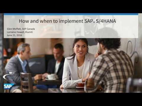 How and When to Implement SAP S/4HANA