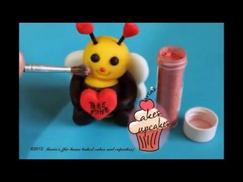 Valentine's day cupcake topper tutorial