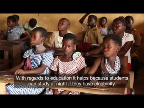 Clean, sustainable energy for remote rural areas in Côte d'Ivoire
