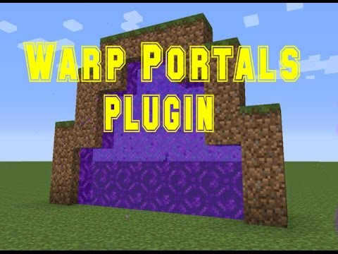 Minecraft - Warp Portals Plugin - Tutorial