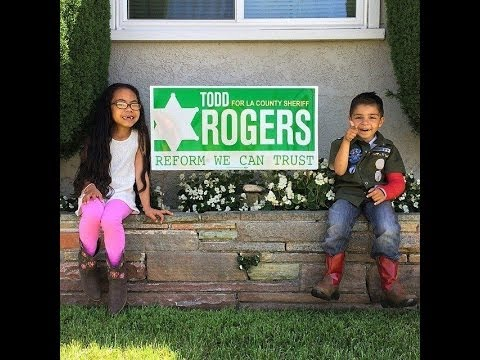 Todd Rogers for LA Sheriff - Helping Kids and Teens in Need