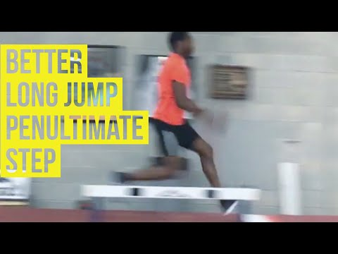 Better Long Jump - Penultimate Step