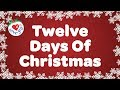 Twelve Days Of Christmas With Lyrics Christmas Carol Song Ch