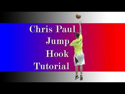 Chris Paul Basketball Moves: How to Jump Hook Shot Tutorial