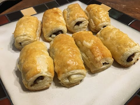Butter Puff Pastry Beef Patties | Easy Recipe