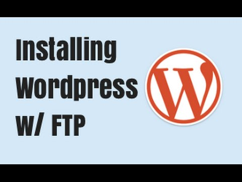 Installing Wordpress with WP Quick Install + FTP - Quick Tutorial
