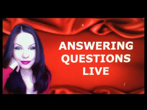 ANSWERING QUESTIONS LIVE