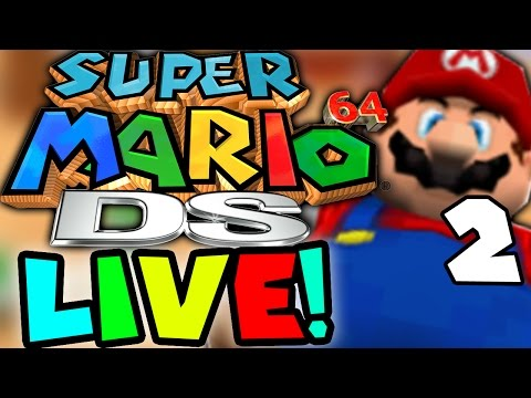 Super Mario 64 DS UNLOCKING LUIGI! Part 2