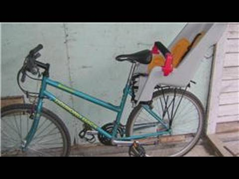 Bicycle Equipment : How to Install a Child Carrier on a Bike