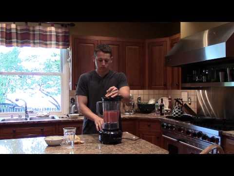 Strawberry Banana Coconut Water Smoothie Maximum-Evolution