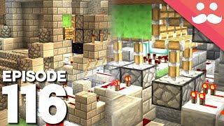Hermitcraft 5: Episode 116 - FANCY Redstone Builds!