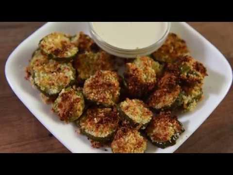Club Chefman Recipe   Air Fried Parmesan Pickle Chips