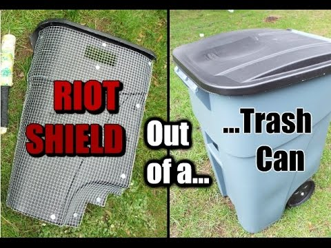 How to Make: a Riot Shield