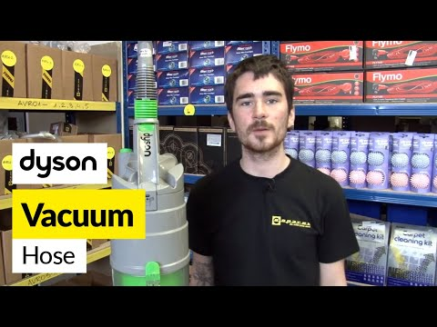 How to replace the Dyson hose on a Dyson DC04 vacuum cleaner
