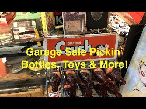 Garage Sale Pickin' What's in the Garage?!?