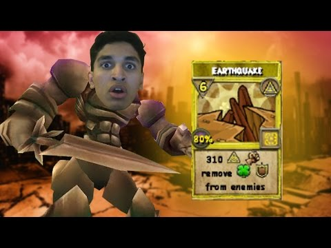 Wizard101 Level 50 Myth PvP: OP MINION CASTS EARTHQUAKE SPELL!?