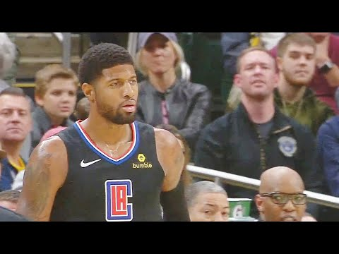 Paul George Shuts Up Pacers Crowd For Disrespecting Him By Booing In Return! Clippers vs Pacers