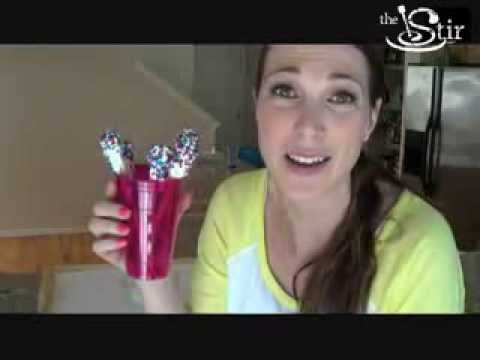 Perfect Labor Day Snack: Frosted Pretzels! - Crafty Mom's Weekly Challenge - Episode 11