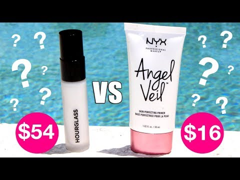 Drugstore Dupe TESTED | Hourglass vs NYX Angel Veil