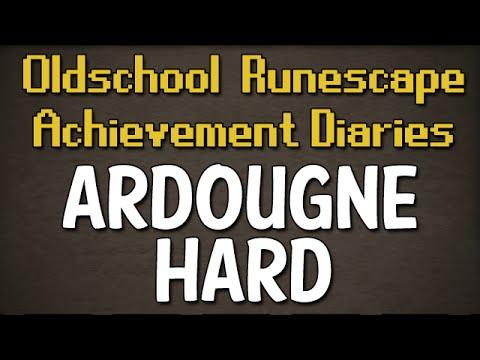 Ardougne Hard Achievement Diary Guide | Oldschool Runescape