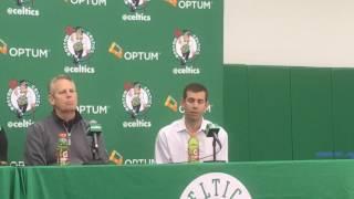 Brad Stevens on Boston Celtics draft pick Jayson Tatum