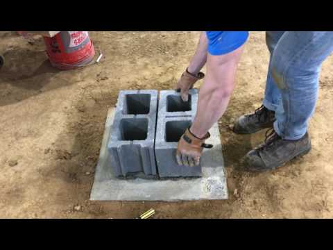 Day 271 - Building crawl space piers Pt 1