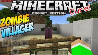 Zombie Villagers In Mcpe How To Cure A Zombie Villager Minecraft Pe P