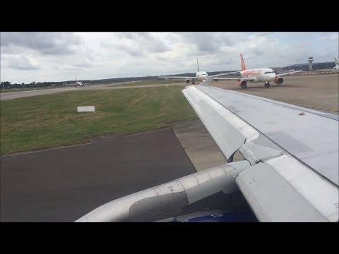 British Airways Airbus A320-232   London Gatwick to Venice *Full Flight*