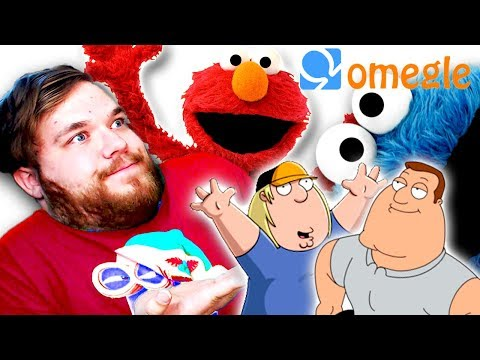 Elmo and Cookie Monster Go On OMEGLE, Singing, Family guy Impressions AND MORE!