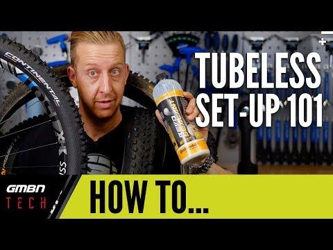 Mountain Bike Tubeless Tyre Setup 101 | GMBN How To