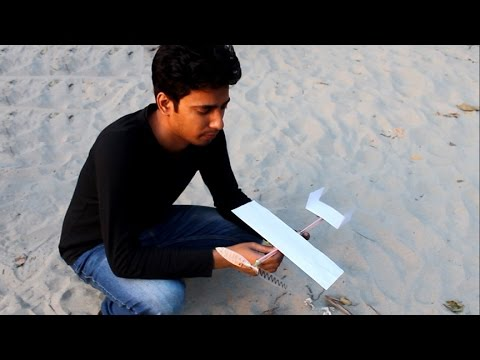 ✓Rubber band plane Out of paper – Very Easy And Effective Airplane | Amazing Science