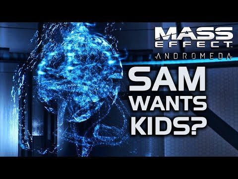Mass Effect Andromeda - SAM Asks About Reproduction After Sex With Jaal