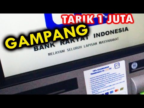 Video Penarikan Tunai STIFORP Via BNI 1 Juta