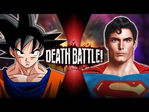 Goku VS Superman | DEATH BATTLE!