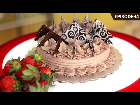 Learn how to make beautiful chocolate decorations for your cakes, cupcakes & desserts (Part 3)