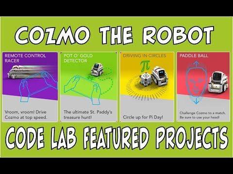 Cozmo the Robot | Code Lab NEW Featured Projects | Episode #84