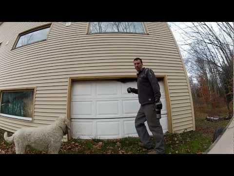 Building Custom Cheap Garage Doors - 121 - My DIY Garage Build HD Time Lapse